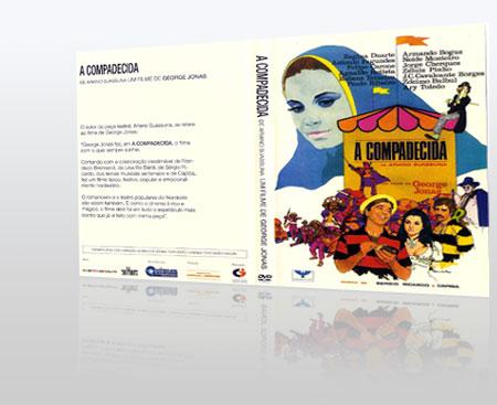 Capa do DVD A Compadecida - Jorge Jonas