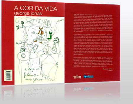 Capa do Livro A Cor da Vida - Jorge Jonas