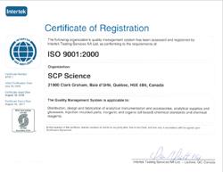 CERTIFICADO ISO 9001:2000